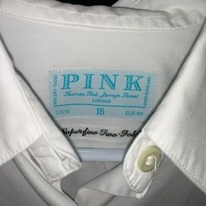 Thomas Pink - White Button Down Shirt